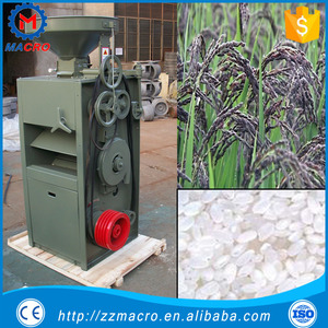 Chinese SB series rubber roll rice mill