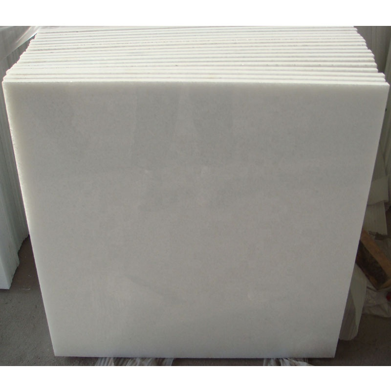 Absolute Pure White Stone Slabs Opal Crystal Marble