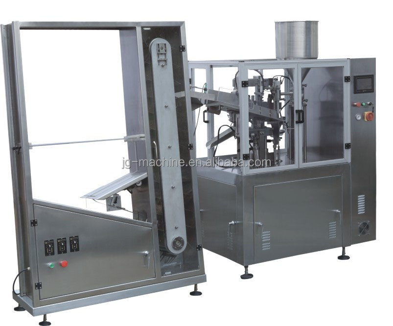 NF-60 Automatic Tube Filling and Sealing Machine with automatic tube feeding machine