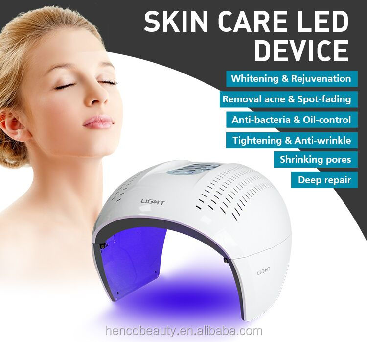 2018 LED PDT red light therapy machine /acne treatment pdt led phototherapy machine for sale