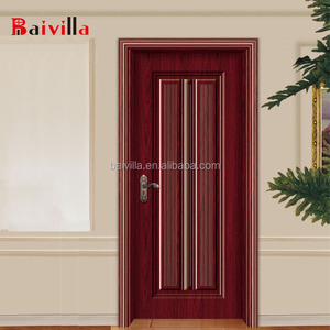 Hotel apartment mdf internal laminated melamine door
