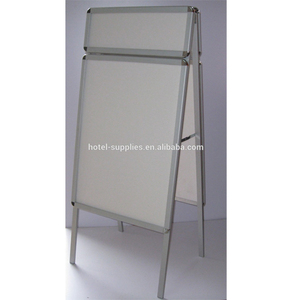 Metal advertising outdoor notice boards