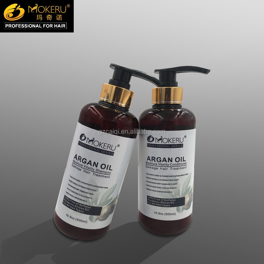 Anti dandruff nourish natural Argan oil essential shampoo
