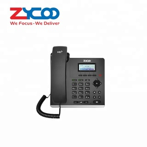 voip product cheap IP phone 2 sip lines 10/100Mbps Ethernet of office telephone for office voip phone system
