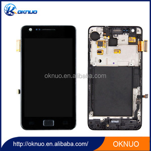 New Touch replacement lcd screen for original samsung galaxy s2 lcd factory price
