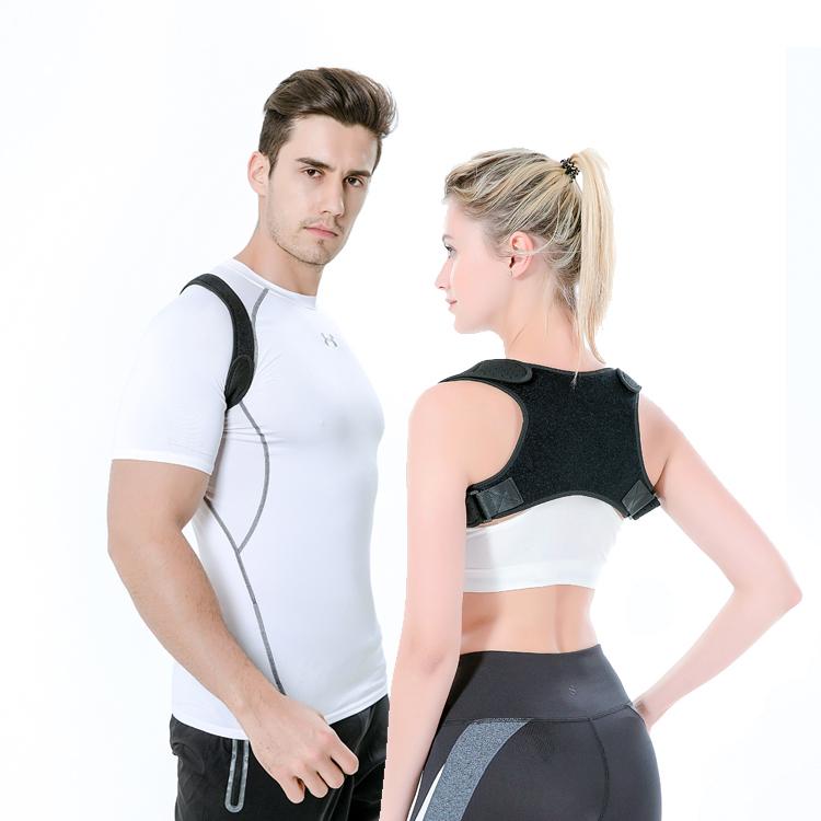 2019 Best Seller Amazon Comfortable Posture Corrector Kyphosis Brace, Black