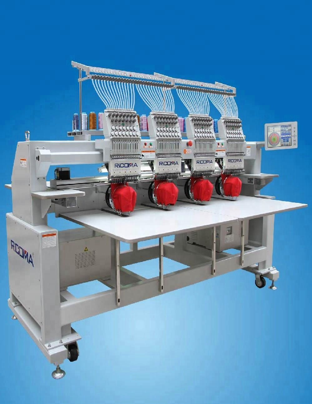 RiCOMA High Speed ​​4-Kopf-Stickmaschine