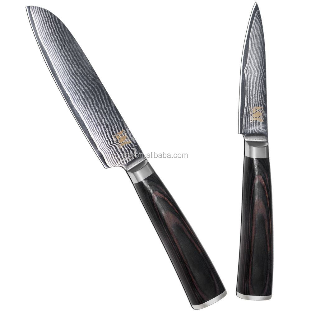 High Quality Japanese Folded Steel Best Damascus Steel Chef Knife ...