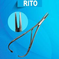 Rt-393 Dental Orthodontic Elastic Ligature Placing Pliers-needle ...