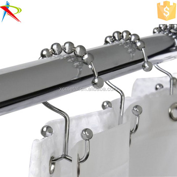 Double Glider Shower Curtain Rings Hooks Product On Alibaba