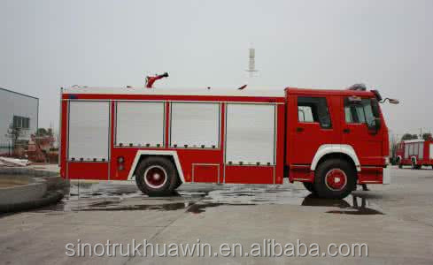 Sinotruk fire truck for sale/mini fire truck/fire truck water capacity 5000L for sale