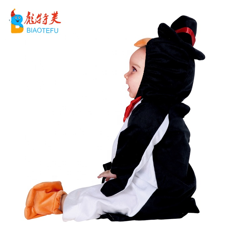 high quality toddlers infant animal penguin cosplay costumes
