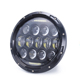 Auto Parts 7'' Round Headlight 75W Led Headlight for Jeep Wrangler