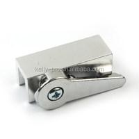 Sliding Cam Action Door & Window Lock, Aluminum Defender Security Cabinet Latch , Casement Window Lock