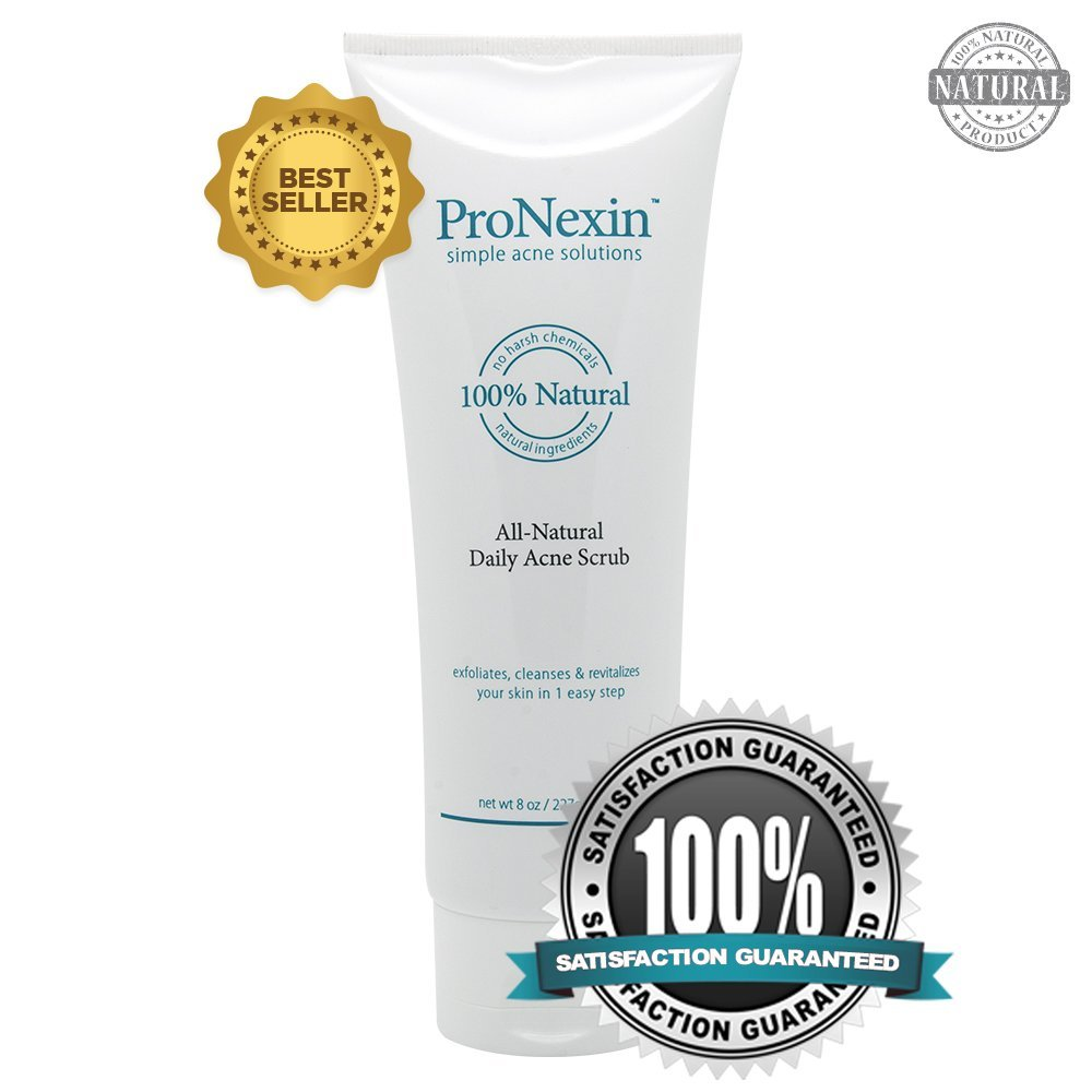 Pronexin - Acne Face Wash - Gentle All Natural Daily Scrub Face Wash - Exfoliate and Clean