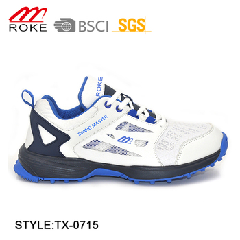 9e17f9470fc New design Outdoor Cricket Shoe PU Mesh Cricket Sport Shoes For Men, View  Cricket Shoe, ROKE Product Details from Jinjiang Taixin Shoes Co., Ltd. on  ...