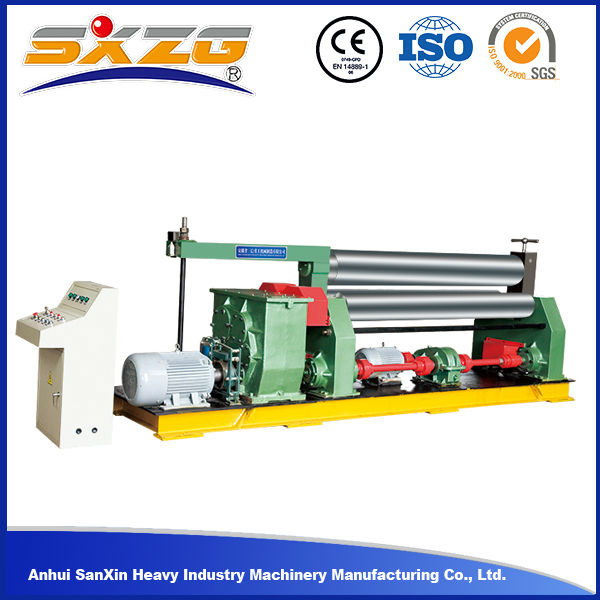 W11 series manual plate stainless steel pipe rolling machine steel sheet roller machine