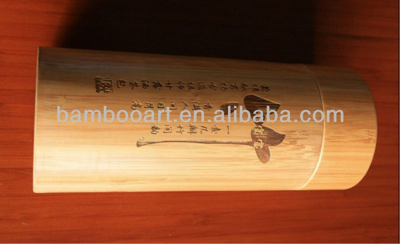 bamboo packing tube