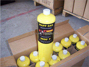 supply cylinder Mapp gas with Mapp gas cylinder for welding gun welding torch mapp gas