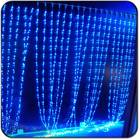 Christmas holiday name decoration curtain wedding led string lights