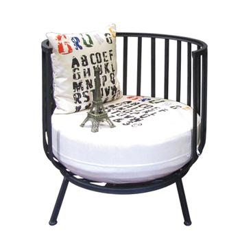 Merveilleux 2017 Urban Style New Design Round Back Metal Frame Club Sofa Tub Chair  Living Room Furniture No.af4   Buy Metal Tub Chair,Urban Metal Tub  Chair,Metal ...
