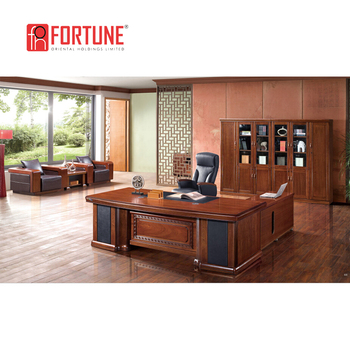 Principal Wooden Office Furniture MD Office Desk (FOHB3L 242)