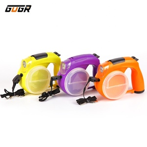 New Style LED 5M/8M Pet Lead Wholesale Strong Tape Retractable Dog Reflective Leash
