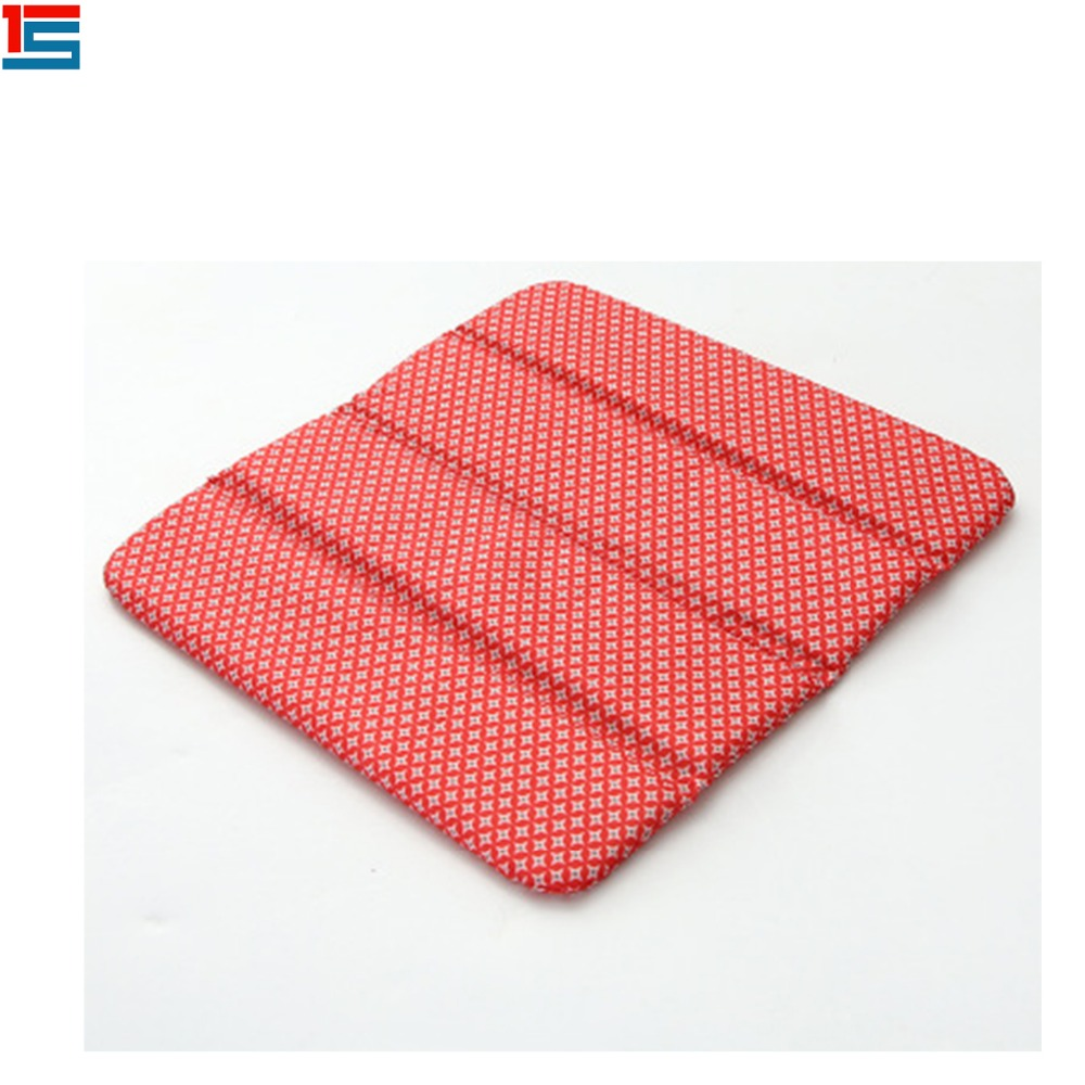 eco-friendly waterproof outdoor foam foldable stadium bag packaged seat cushion