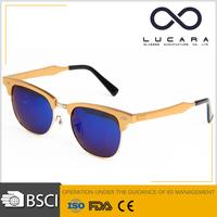 Designer Eyeglasses Solar Shield Glasses Aluminum Frame Sunglasses