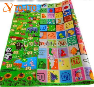 Better sells organic folding EPE Children Game Mat Baby Play Mat With Sides