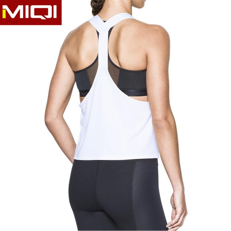 44e7ecf06a317 Latest Sexy Girl Wear Bra Plain Crop Tops Wholesale Custom Loose Fit Shirt  Tank Tops