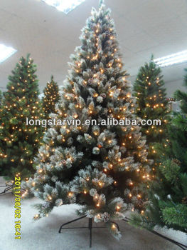Flocked Snowing Tree Leave And Branch ( For Artificial Snow ...
