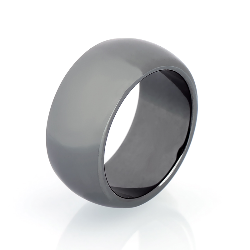 Magnetic Healthcare Ring Weight Loss Ring String Stimulating Acupoints Hematite Ring for Men Women