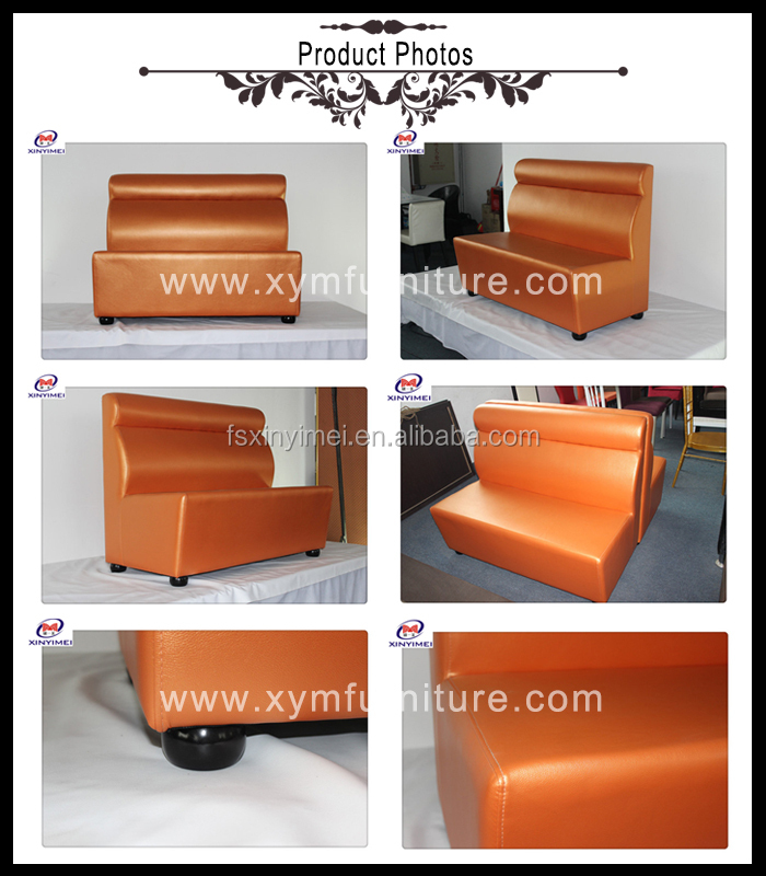 classical style leather dining booth