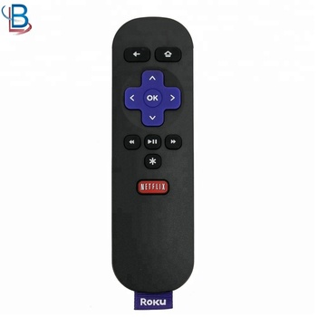 Ir Remote Control For Roku 1 2 3 4 Lt Hd Xd Xs Xds Streaming Player With  Netflix Key - Buy Tv Remote Contrl,Remote Control For Roku 1 2 3 4,Netflix