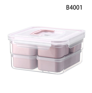 Environmentally friendly A6093 wheat straw material beton lunch box for home usage