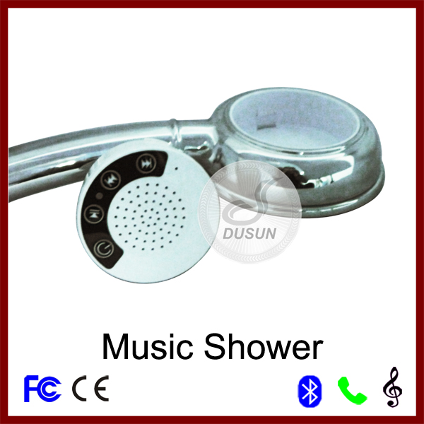 The Latest 2 Generation Wireless Bluetooth Music hand shower Head