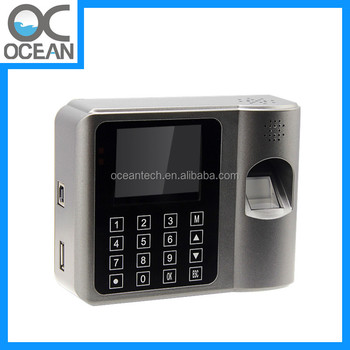 Fingerprint Door Entry Exit Control Access Machine And Employee