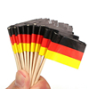 Mini Cocktail Paper Flag Cake Decoration Topper High Quality Toothpicks Flag