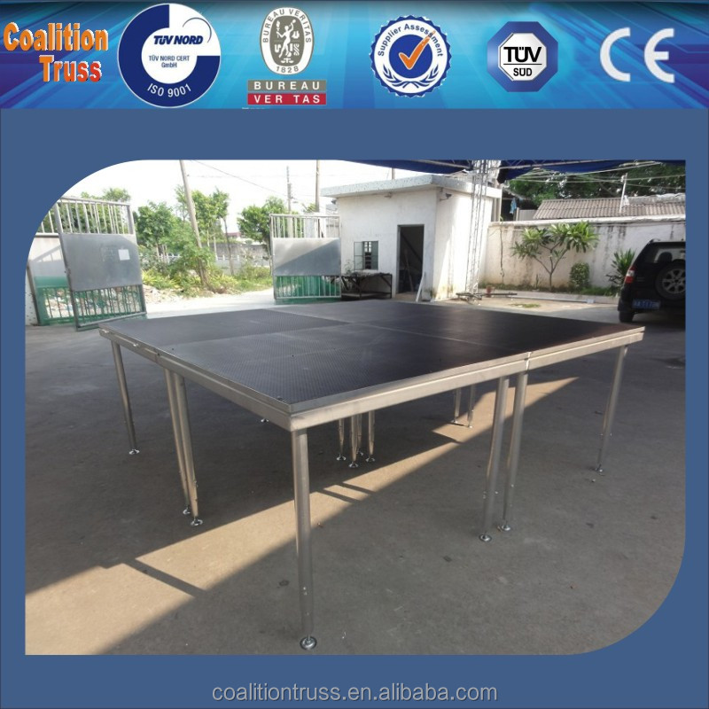Plywood Aluminum Frame Mobile Stage