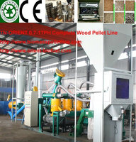 TN-patent energy saving complete meet family and farm use small wood pellet (mill ine) plant hot sale in China for sale