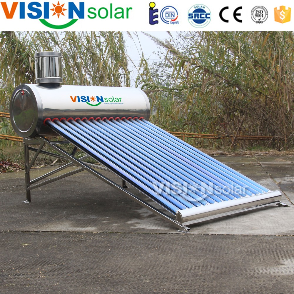 Most enconomical non pressure solar water heater 150l for good weather country
