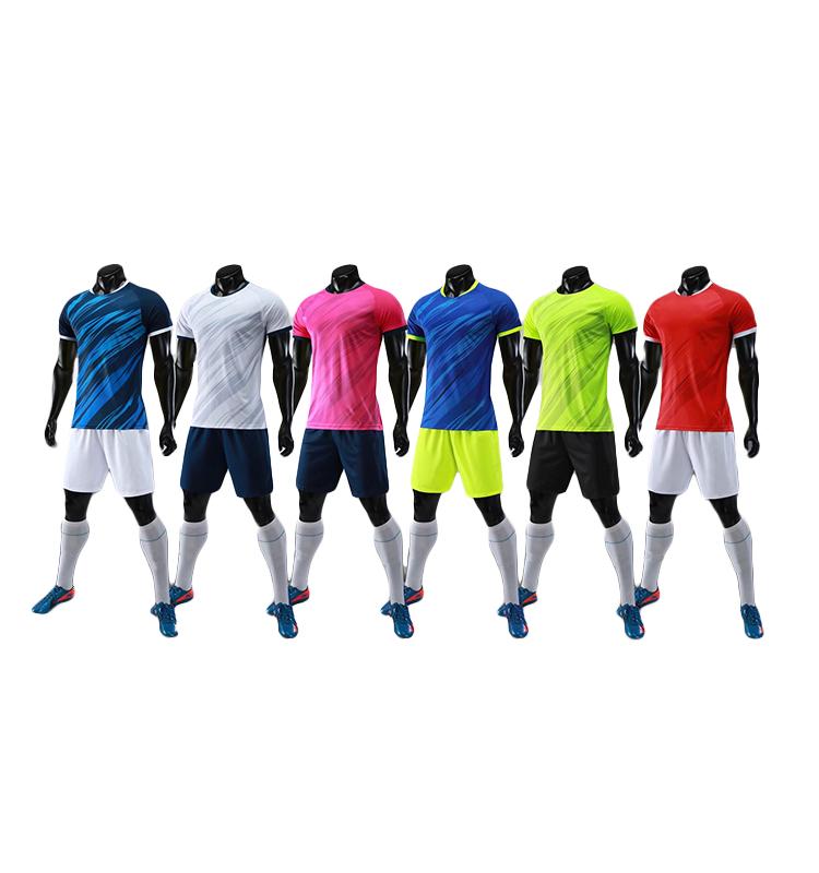 Soccer Uniform Set/Cheap Soccer Uniform Kits/Football Team Training Jersey