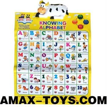 btp 8278010a children learning chart children cartoon animal english