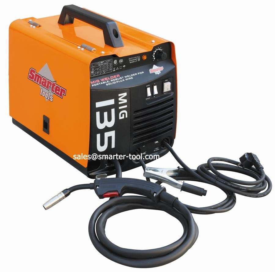 100a Portable Gas Gasless Mig Mag Welding Machine Of 220v - Buy Mig ...