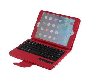 High Quality Keyboard For Apple iPad, Wireless PC Blue Tooth Keyboard For iPad Mini-SPM01