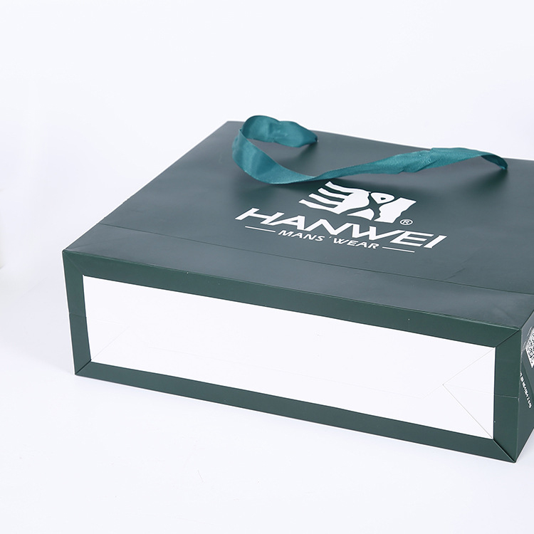Custom logo luxury paper bag clothing packaging paper bag for garment,gift