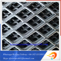 With free sample service Building and House Decorative expanded metal mesh for wipe wall net