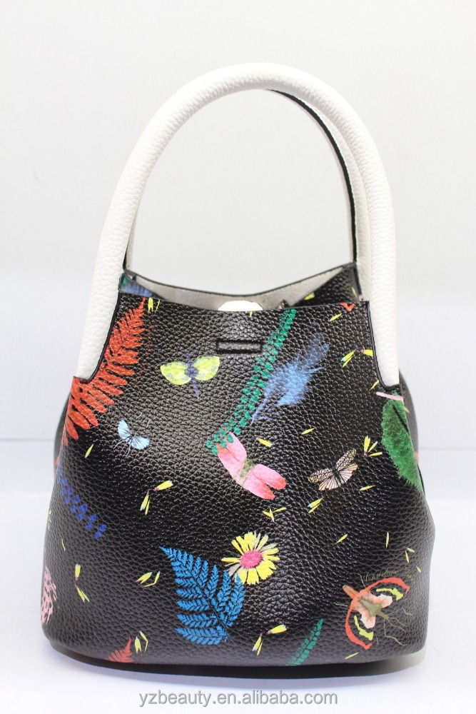 Women painted handbag latest deisgn young women baglower price bag