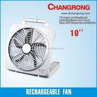 Dry battery operated 10'' Box fan CR-1002A